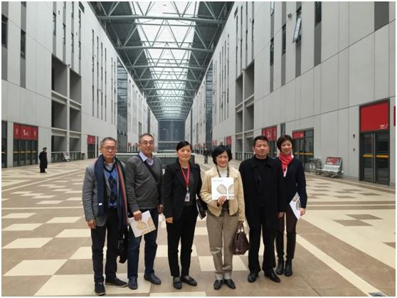 香港新民党主席叶刘淑仪参观国家会展中心